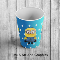 MINIONS Personalized Cups - Minions 9oz Cup template  - Despicable Me CUP - Minions Cups download - Despicable ME - Instant Download