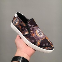 Versace Slip On Sneakers Dsu6783 - Best Online Sale