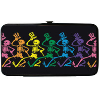 Grateful Dead Women's Dancing Skeletons Girls Wallet