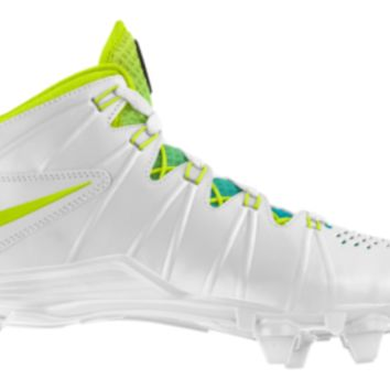 Nike Huarache 4 LX D iD Custom Men's Lacrosse Cleats - White