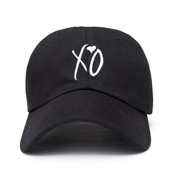 New Fashion XO hat the Weeknd Snapback hats for men women brand hip hop dad caps sun street skateboard casquette cap adjustable