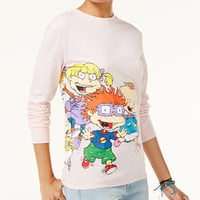 Nickelodeon X Love Tribe Juniors' Rugrats Running Long-Sleeve T-Shirt - Juniors Tops - Macy's