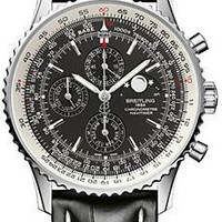 Lussotime - Breitling Navitimer 1461 Men's Stainless Steel Watch Black - A1937012/