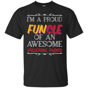 Awesome Volleyball Player T-Shirt Hoodie, Funny Uncle T-Shirt Hoodie