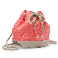 PS from Aero  Kids' Sequined Bucket Bag