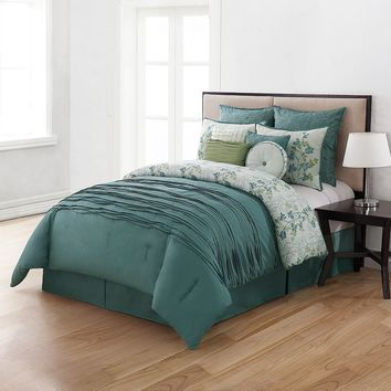 Home Classics Bloomfield 10-pc. Comforter Set - Queen|Home Classics Bloomfield 10-pc. Comforter Set - Cal. King