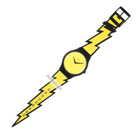 Swatch Lightning Flash - Watch - SUOZ104 | Squiggly Swatch Watches and Straps