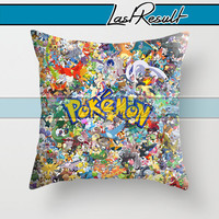 Considered All Pokemon on Decorative Pillow Covers