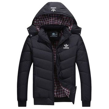 DCCKI2G ADIDAS Woman Men Fashion Cotton Cardigan Jacket Coat Windbreaker