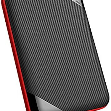 Silicon Power 5TB Rugged Portable External Hard Drive Armor A62, Shockproof USB 3.0 for PC, Mac, Xbox and PS4, Black