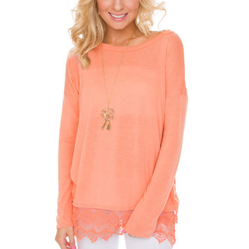 Cameron Lace Top