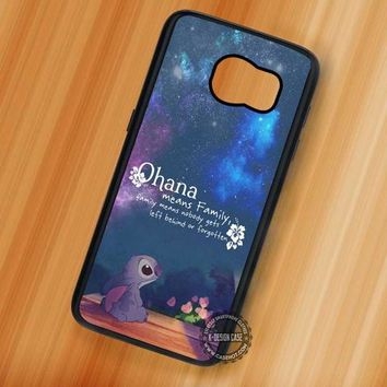 Ohana Lilo and Stitch Disney - Samsung Galaxy S7 S6 S5 Note 7 Cases & Covers