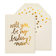 Playful Bridesmaid Card