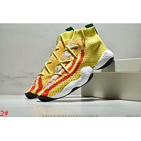 ADIDAS CRAZY PHARRELL BYW Fashion Women Men Casual Sport Running Shoes Sneakers 2# Yellow I-AA-SDDSL-KHZHXMKH