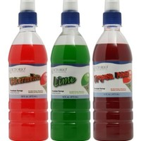Time for Treats(TM) Tropical Punch, Watermelon and Lime Snow Cone Syrup 3-Pack by VICTORIO VKP1107
