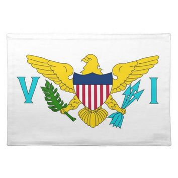 Virgin Islands American MoJo Placemat