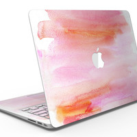 Pink 922137 Absorbed Watercolor Texture - MacBook Air Skin Kit