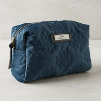 Ilia Embossed Cosmetic Case by Day Birger et Mikkelsen Blue One Size Bags