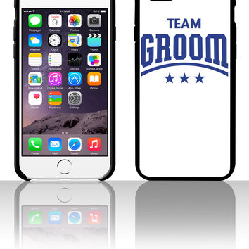 Team Groom 5 5s 6 6plus phone cases