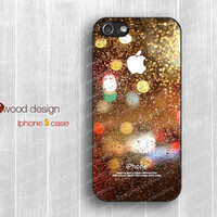 NEW iphone 5 case dream catcher iphone 5 cover colorized Rain and glass design printing atwoodting design