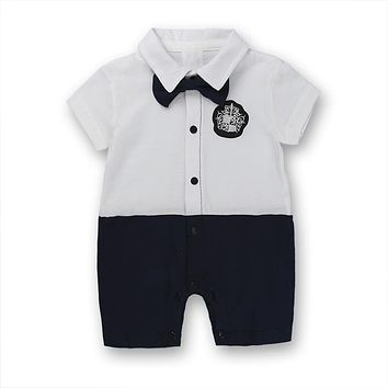 Boys cotton overalls Baby clothes toddlers bow tie baby clothes tender for little boys overalls for baby