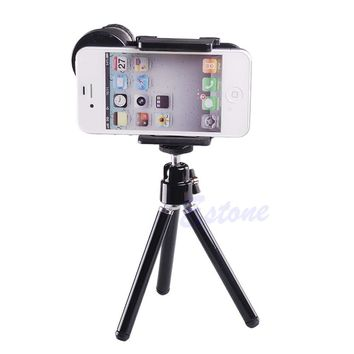 Universal 8X Optical Zoom Telescope Camera Lens Tripod Holder For Mobile Phone