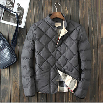 Warm Padded Men's Winter Jacket
