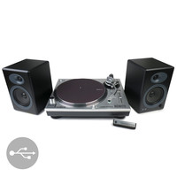 Audio-Technica: AT-LP120-USB Turntable + Audioengine A5+ Speakers Package