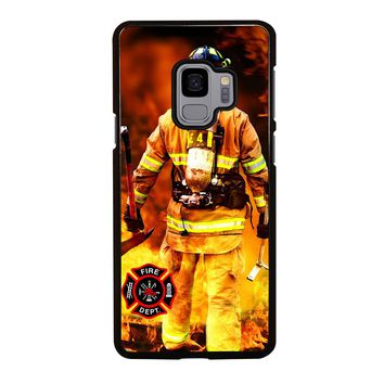 FIREFIGHTER FIREMAN DEPARTMENT Samsung Galaxy S3 S4 S5 S6 S7 S8 S9 Edge Plus Note 3 4 5 8 Case