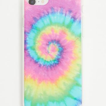 Spiral Tie Dye Phone Case for iPhone 6/6s/7/8