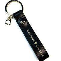 Kate Spade Leather Live Colorfully Key Loop Key-chain FOB Keychain