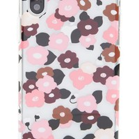 kate spade new york jeweled small blooms iPhone X case | Nordstrom