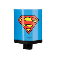 SUPERMAN LOGO BLUE NIGHT LIGHT