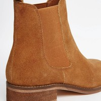 ASOS | ASOS ATTRIBUTE Suede Chelsea Ankle Boots at ASOS