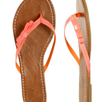 Side Bow Flip Flop | Shop Shoes at Wet Seal