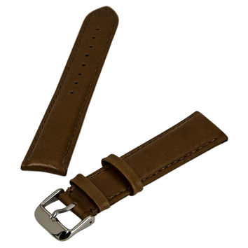 Debeer Honey 20 mm Wide Genuine Leather Strap