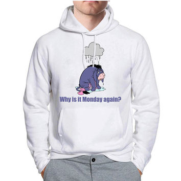 Eeyore Monday Quote Disney Hoodie -tr3 Hoodies for Man and Woman