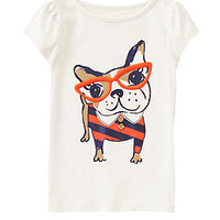 Smart Frenchie Tee