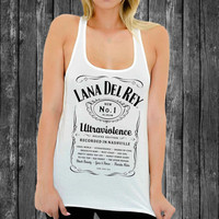 lana del rey ultraviolence white tank top For Women,Men tanktop # Size S M L XL XXL XXXL