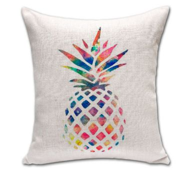 The New Creative Soft Comfortable Cotton Pineapple Pillow