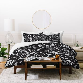 Heather Dutton Something Wicked This Way Comes Duvet Cover