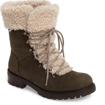 UGG® Fraser Genuine Shearling Water Resistant Boot (Women) | Nordstrom