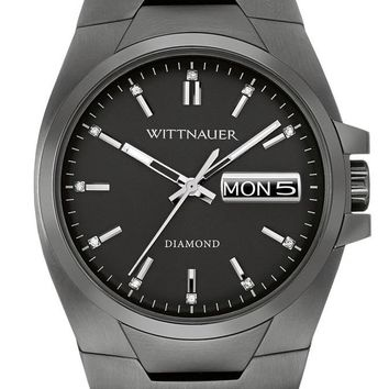 Wittnauer Brody Black Ion Stainless Steel Watch WN3046