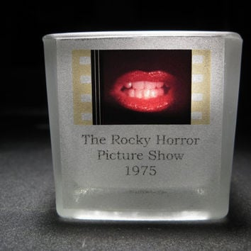 Rocky Horror Picture Show - Film Cell - Glass Votive