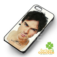 Ian Somerhalder's Autograph vampire diaries - 21zzzz for  iPhone 6S case, iPhone 5s case, iPhone 6 case, iPhone 4S, Samsung S6 Edge