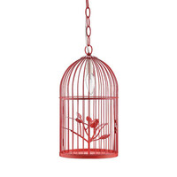 Free Bird Pendant Light in Watermelon