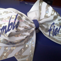Tumble Fierce Cheer Bow  3 cheer bow by ShimmerCreationsBows