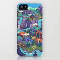 Try Not to Step on Anything This Time iPhone & iPod Case by Valeriya Volkova