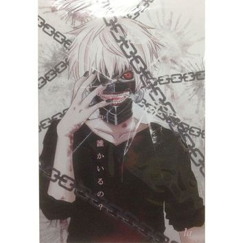 8 pcs lot different designs Anime A3 Posters Tokyo BLEACH Attack on Titan Ghoul Fate Zero Paintings Wall pictures