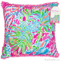 Lilly Pulitzer Pillow in Spot Ya